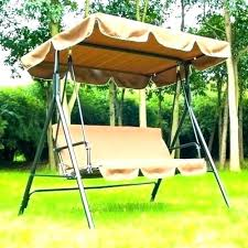 3 seat swing with canopy 3 outdoor swing canopy replacement chair garden patio swinging hammock with