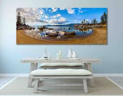 panoramic wall art 21 best lake tahoe wall decor images on
