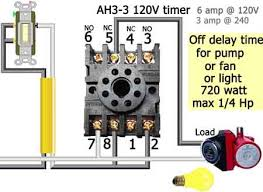 how to wire dayton off delay timer more wiring diagrams