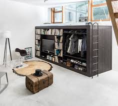 Living Cube Studio Apartment Storage Furniture 3