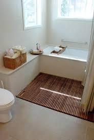 Clear Glass Backsplash Wood Tile Bathroom Shower Wall Mount Chrome Metal To Towel Shelves