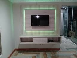 modern wall mount tv stand