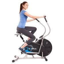 fan exercise bike. body rider® upright fan bike exercise