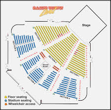 54 Particular Blossom Music Center Seating Chart Pit