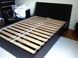 high bed frame review malm