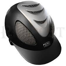 Gpa Evo 2x Riding Helmet Black Titane