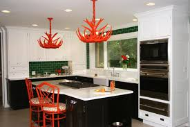 White Kitchen With Red Accents 5 Ways To Decorate With Red Hgtv