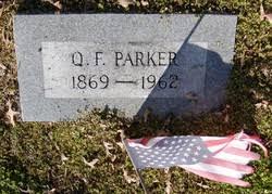 """Aquilla Fuller """"Q F"""" Parker (1869-1962) - Find A Grave Memorial"""