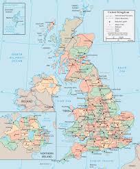 united kingdom map  england wales scotland northern ireland