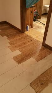 Concrete Wood Floor This Is A Concrete Floor Painted To Look Like Wood Im Using A