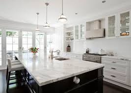 Pictures Of Kitchen Countertops And Backsplashes Magnificent Foxislandwatwotonekitchencountertopgranitemarblequartztile