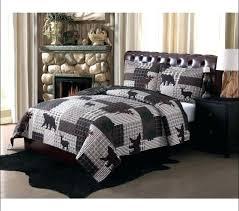 minimalist bedding sets deer bedding set comforter set bedroom awesome fisherman bedding deer comforter sets wildlife