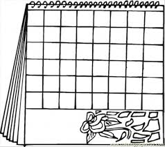 Small Picture September Calendar Clipart Coloring Coloring Pages