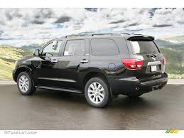 2011 Black Toyota Sequoia Limited 4WD #46957465 Photo #3 ...