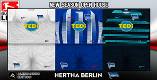 Hertha bsc and nike revealed their new home kit for the 2020/21 season. Pes 6 Kits Hertha Bsc Season 2018 2019 By Alessandro Pes 6 Update Free Download Pro Evolution Soccer 6 Mods Patches Updates