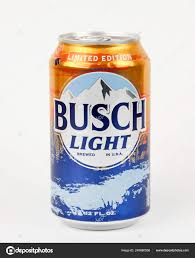 Busch Light Limited Edition Cans Spencer Wisconsin January 2019 Can Busch Light Beer Busch