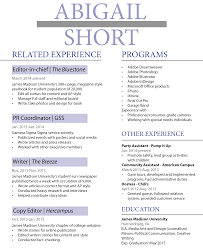 Indesign Beth Wertz Resume Design
