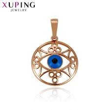 2018 11 11 xuping fashion luxury eye jewelry pendant with copper for women thanksgiving gift high quality special design s54 32839 from baibuju8