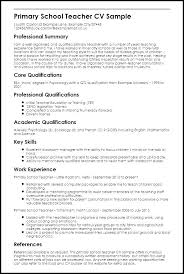 Resume Examples For Teaching Teachers Sample Resume Teachers Sample