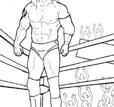 Wwe Coloring Pages Rey Mysterio 2813606 Best Coloring Collection