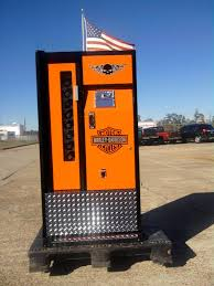 Harley Davidson Vending Machine Mesmerizing Custom Paint On A Coke Machine Page 48 Harley Davidson Forums