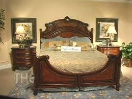 Solid Wood Chestnut Finish Bedroom Set, U0027Repertoireu0027 Collection By Fairmont  Designs