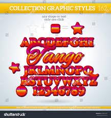 Tango Graphic Design Tango Graphic Styles Design Graphic Styles Stock Vector