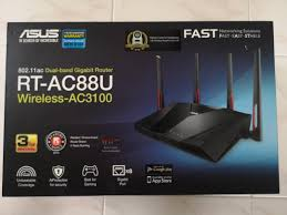 Asus Ac3100 Pink Light Asus Rt Ac88u Wireless Ac3100 Electronics Others On Carousell