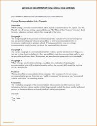 Personal Letter Template Word Archives Psybee Com New Personal
