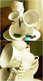 Decorative Cup And Saucer Holders From Tea to Décor 100 Gorgeous Projects to Upcycle Old Teacups 12