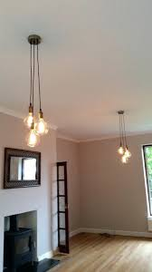 three bulb pendant light 3 cer any colors multi pendant hanging light bulb modern industrial 2