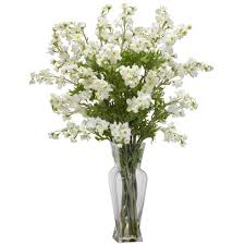 flower arrangements dining room table: home decoration tall white artificial floral arrangements artificial floral arrangements centerpieces
