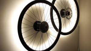 6 bicycle wheel lamps