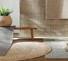 border round jute rug