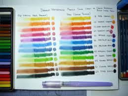 Colored Pencil Swatch Book - Miss. Adewa #1C9736473424