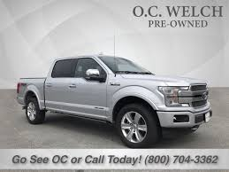 Certified 2018 Ford F-150 Platinum 4X4 Truck For Sale In Hardeeville ...