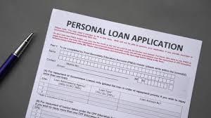 Personal Loan Application Form Credit Application Paper Sheet