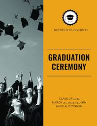 Graduation Program Template Pdf 6 Graduation Program Templates Pdf Word