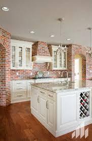 Exposed Brick Kitchen 27 Best Beautiful Kitchen Backsplashes Images On Pinterest