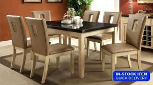 dining table 4 chairs room set of fay marble
