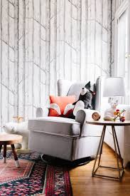 Wallpaper Living Room Designs 17 Best Ideas About Nursery Wallpaper On Pinterest Baby Nursery