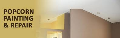 painting popcorn ceilings can you paint popcorn ceilings with a roller