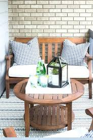outdoor furniture small balcony. Small Outdoor Furniture Patio Chairs Balcony Filled With Wooden Table And . Garden