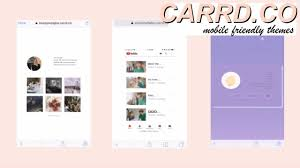 Tumblr Anime Themes Carrd Co Mobile Friendly Themes