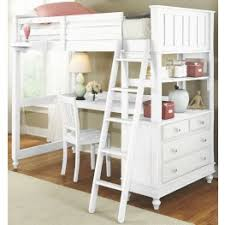 Image Wrap Around Desk Lake House White Twin Loft Bed With Desk Coleman Furniture Loft Beds Bunk Beds Coleman Furniture