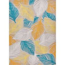 modern abstract tropical leaves thin area