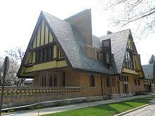Famous architectural houses 50s Nathan G Moore House Oak Park Illinois 1895 Wikipedia Frank Lloyd Wright Wikipedia