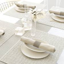 modern placemat modern placemats grey squiggles set of  il
