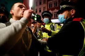 pre lockdown drink