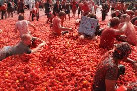 """Résultat de recherche d'images pour """"tomatina de bunol"""""""